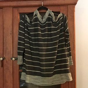 "Loft ""Cold Shoulder"" Sweater Medium"